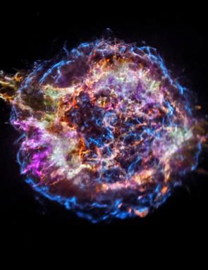 Supernova Cassiopeia A, Chandra X-ray Observatory, 12 December 2017 (Credit: NASA/CXC/SAO)