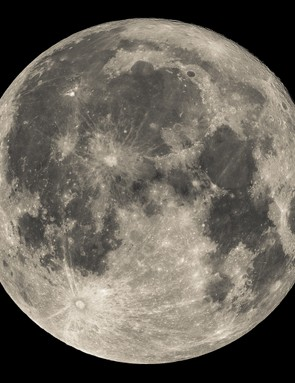 """Kevin Jackson, Southport, 5 October 2017  Kevin says: """"I love taking pictures of the Moon so the full Harvest Moon was extremely appealing. I'm a back garden amateur astrophotographer and find lunar photography a great and easy way of learning basic astrophotography skills.""""  Equipment: Altair Hypercam IMX178C, Altair Astro Starwave 102 ED doublet refractor (2017 version), Astro Physics CCDT67 Telecompressor, EQ3-2 mount, Moon filter."""