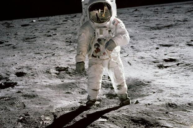Apollo 11 lunar module pilot Buzz Aldrin pictured on the surface of the Moon during the Apollo 11 moonwalk. Credit: NASA