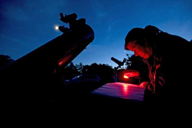 The first question an amateur astronomer often asks after buying a telescope is, 'How far into the night sky can I see with my equipment?' Credit: Panther Media GMBH/Alamy Stock Photo