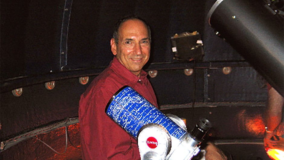 David Levy has discovered 22 comets, been awarded doctorates by five different universities, and written numerous books on astronomyCredit: Jarnac Observatory/W. Wallach-Levy