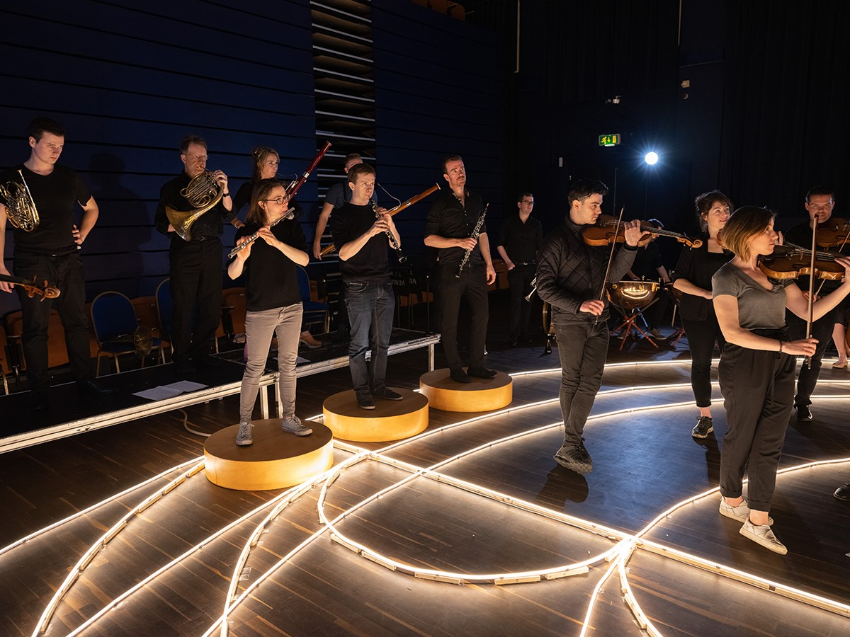 The Aurora orchestra's new programme aims to articulate ancient astronomy through music. Credit Simon Weir