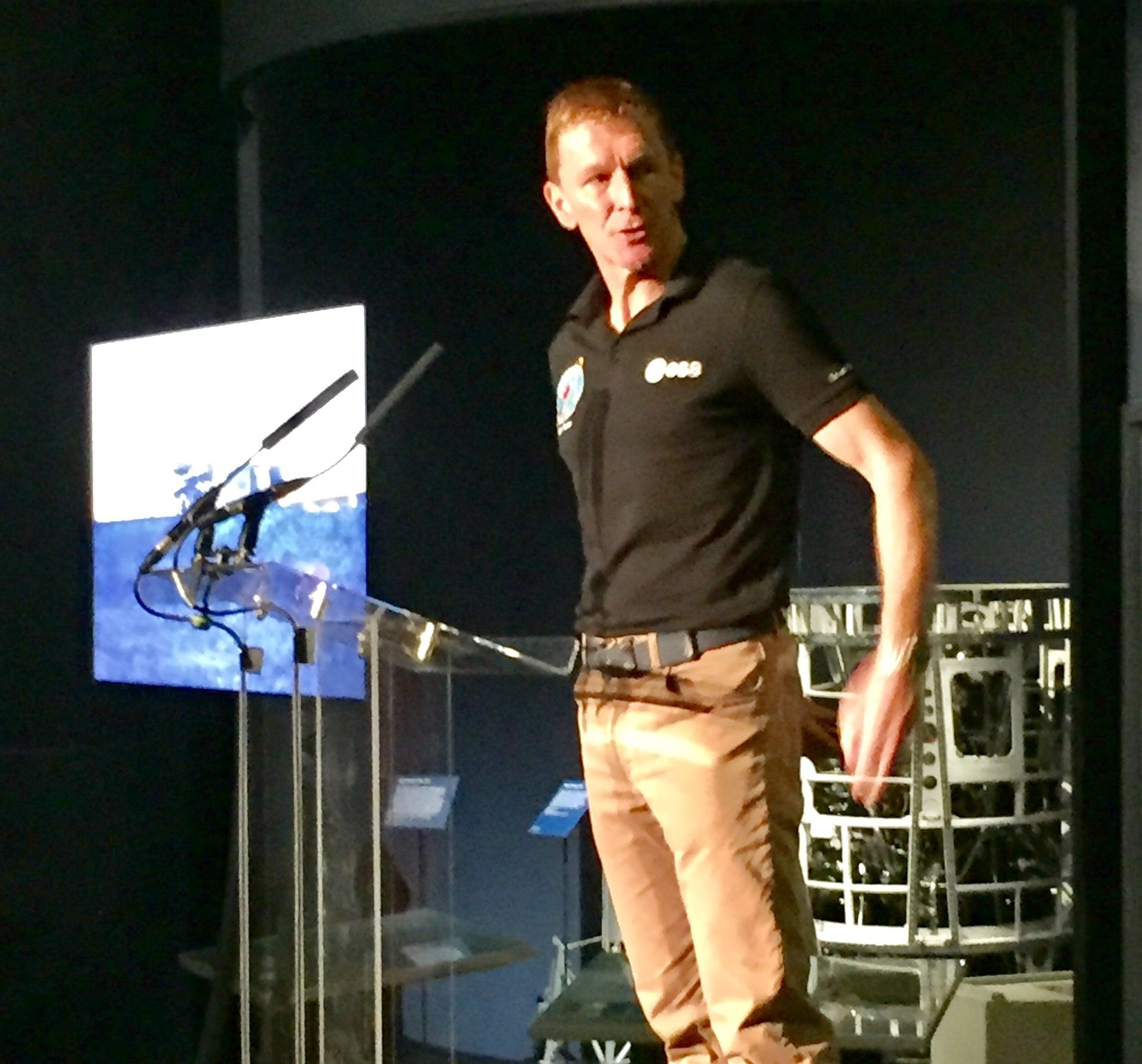 Tim Peake at the Science Museum London