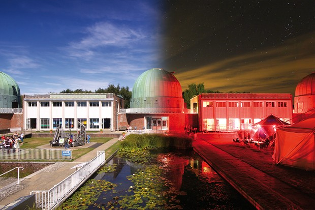 Image: the Observatory Science Centre, Hersmonceux