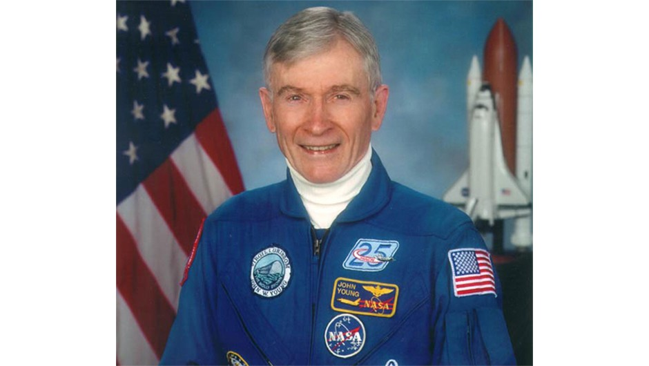 ohn Young's official astronaut portrait.Credits: NASA