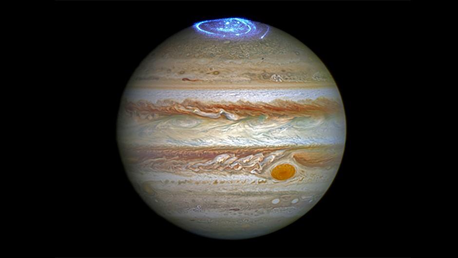 Jupiter-aurora