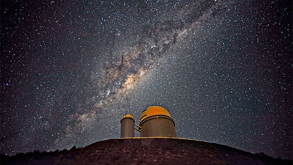 Study of the star K2-18 and its planets was made possible using data captured by the ESO 3.6m telescope at La Silla.Credit: ESO/S. Brunier