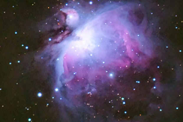 The Orion Nebula is just one of the objects you can capture with a simple DSLR. Credit: Will Gater