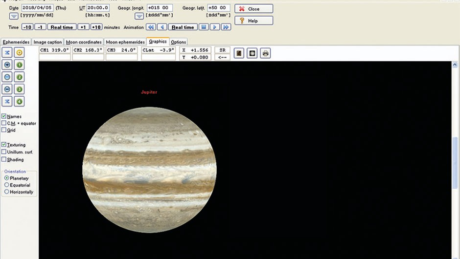 Measure Jupiter Great Red Spot - 01