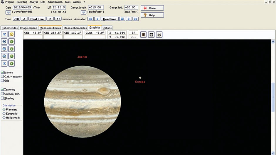 Measure Jupiter Great Red Spot - 02