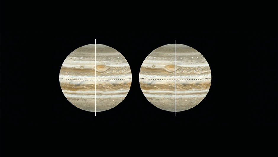 Measure Jupiter Great Red Spot - 04