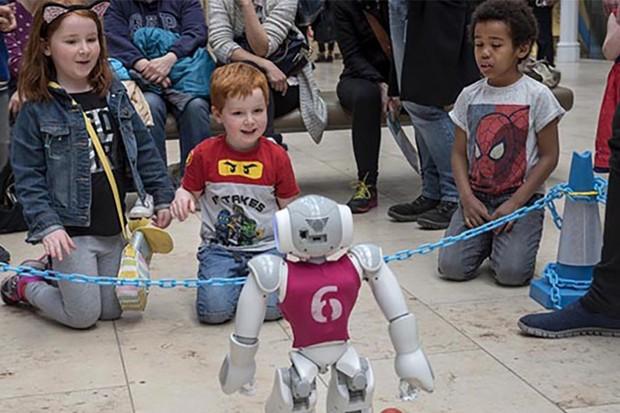 Robot Lab_presented by University of Edinburgh