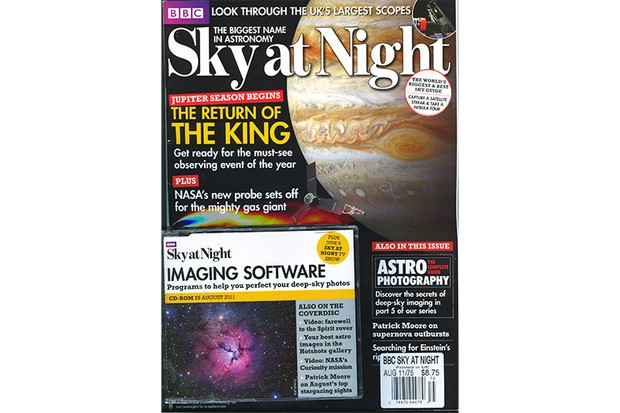 SKY AT NIGHT August 2011