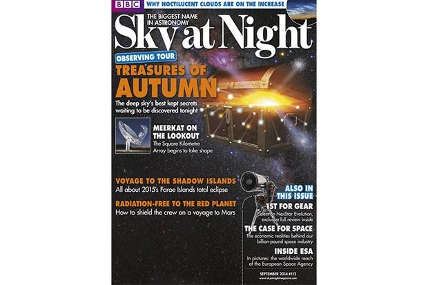 SKY AT NIGHT Sept 2014
