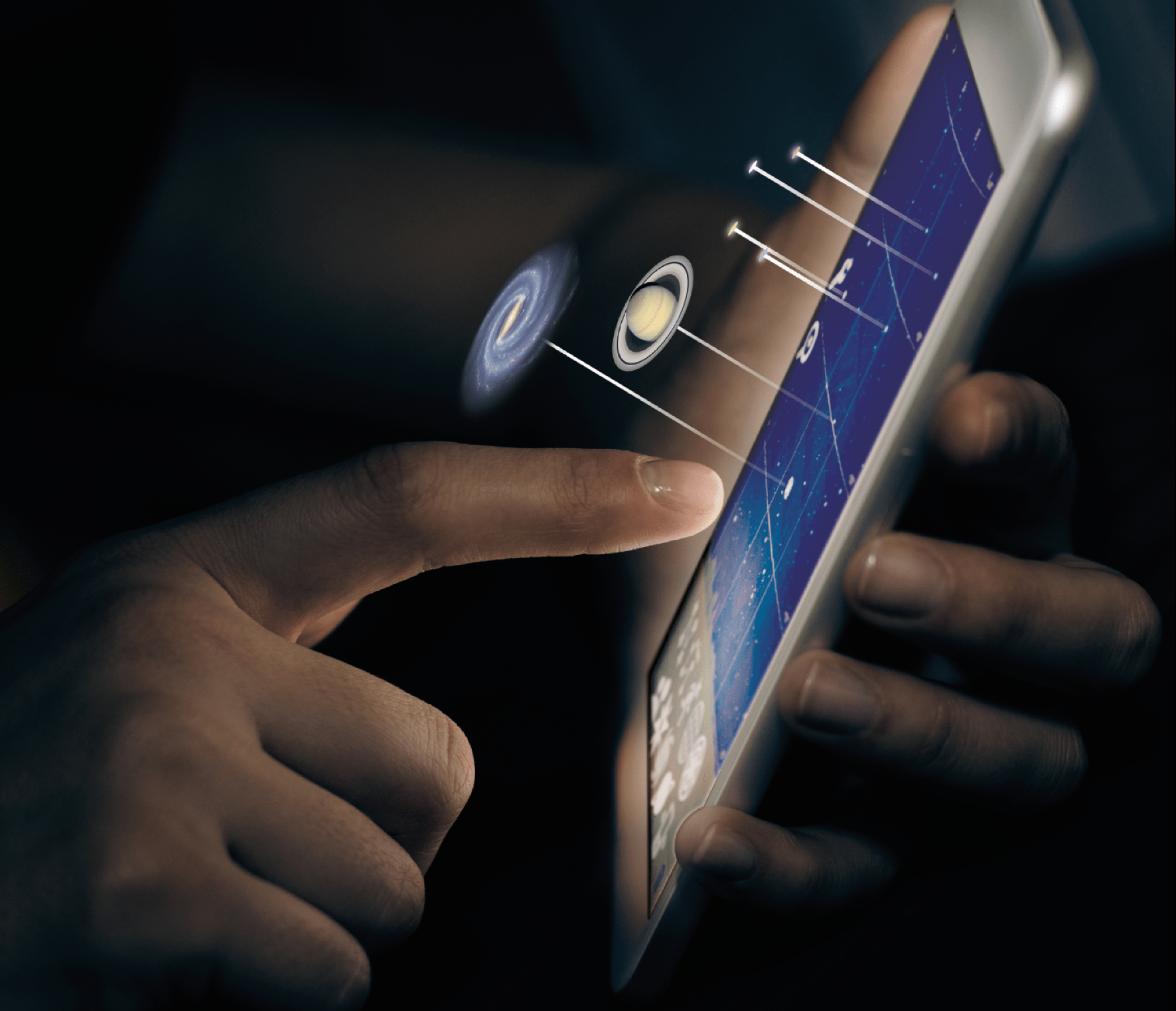 There are many smartphone astronomy apps available to help you navigate the night sky, including many that are free.