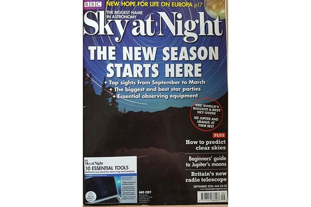 Sky At Night Sept 2010 cover