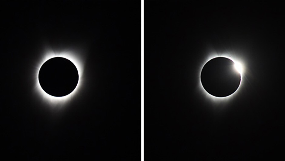 Edwin Oude Wesselink managed to capture these incredible shots of totality.Credit: Edwin Oude Wesselink