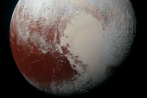 Image of Pluto taken by New Horizons