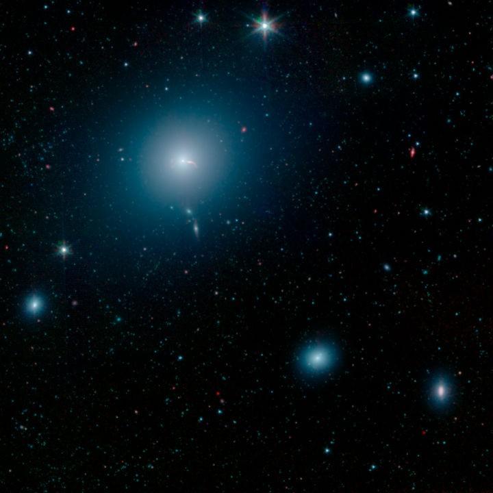 Star HR 8799 and surroundings, Digitized Sky Survey 2, 27 March 2019. Credit: ESO/Digitized Sky Survey 2. Acknowledgement: Davide de Martin.