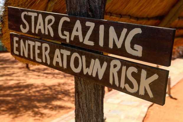 Stargazing among springboks, kudus and meerkats at Bagatelle, Namibi. Credit: Jamie Carter