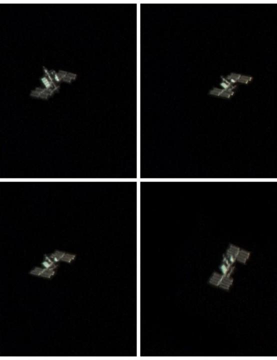 International Space Station Rich Addis, Wallasey, 28 March 2019 Equipment: ZWO ASI120MC CMOS camera, Celestron NexStar 6SE Schmidt-Cassegrain.