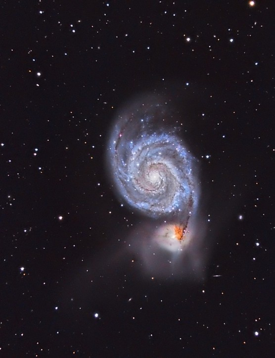 03 - David ATTIE - M51 - Whirlpool Galaxy