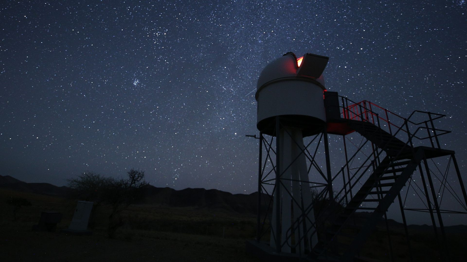Rooisand Observatory, Namibia. Credit: Jamie Carter