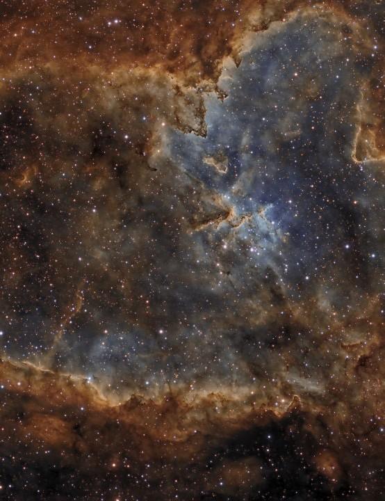 The Heart Nebula César Blanco González, H-alfa Observatory, Leon, Spain, September 2018 Equipment: QSI 583ws mono CCD camera, Takahashi FSQ-106ED refractor.