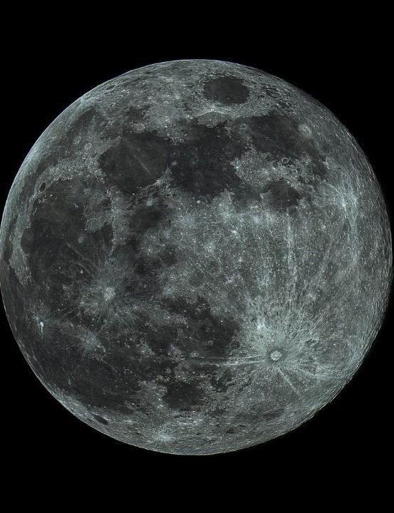 The Moon Neil Macleod, Alberta, Canada, 20 March 2019 Equipment: ZWO ASI 120MCCMOS camera, Orion SkyQyest XT8i IntelliScope Dobsonian.