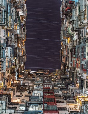 PEOPLE & SPACE  City Lights - Wing Ka Ho (Hong Kong)  Photo location: Quarry Bay, Hong Kong  Equipment: Canon EOS 6D DSLR camera, 24mm lens.