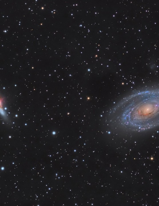 M81 and M82, by Alvaro Ibanez Perez