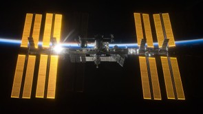 November 2012: the ISS as it appears today, but there are still plans for yet more additions to the space lab before it is eventually disbanded (Credit:NASA/ESA)
