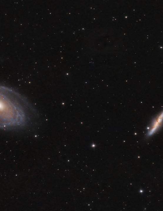 Bode's Nebulae Matt Baker, Ashbourne, 30 March 2019 Equipment: Nikon D3200 DSLR camera, Sky-Watcher Explorer 130P-DS Newtonian, Sky-Watcher HEQ5 Pro mount.