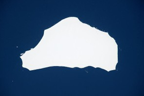 Tim spotted this iceberg the size of London floating off the coast of Antarctica.