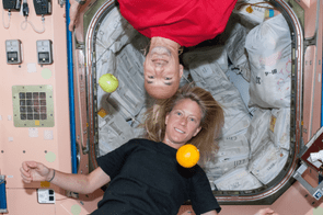 31 May 2013 - When off-duty time comes for crew members onboard the ISS, astronauts often like to take advantage of the micro-gravity to do things that they can't do on Earth, such as hang upside down or suspend fruit in air.