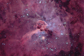 Eta Carinae and her Keyhole © Michael Sidonio.png