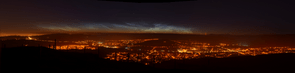 Full View of Noctilucent Cloud © Mark Shaw