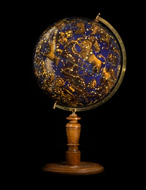 Celestial Globe This globe was produced in 1920 by the Räthgloben publishing house. Celestial globes are designed to show the apparent positions of the stars in the sky.