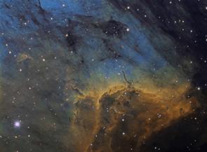 Herbig-Haro Objects in the Pelican Nebula © Andre van der Hoeven