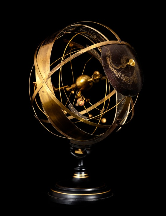 Armillary Sphere Produced in 1872 by Henry L Bryant (1812-1881). Armillary spheres are models of objects in the sky (on the celestial sphere) cantered on the Earth or the Sun. Unbeknown to many, the flag of Portugal features an armillary sphere.