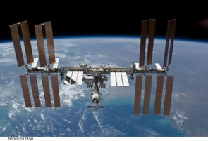 February 2010: the ISS with all four sets of solar wings (Credit: NASA)