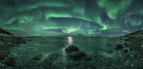 Aurora Panorama 3 - Jan R. Olsen (Norway) - Shortlisted