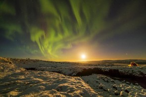 Aurora in Vopnafjörður, Iceland © Fabian Neyer