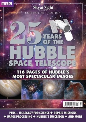 Enjoying the images? Our special edition '25 Years of the Hubble Space Telescope' has 116 pages of the most spectacular images. Look at below to find out how to pick up your copy now.