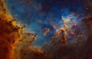 Centre of the Heart Nebula © Ivan Eder (Hungary)