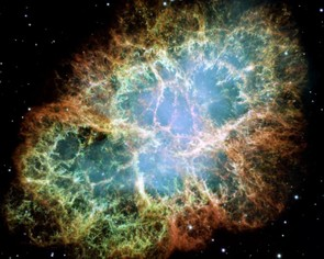 The Crab Nebula is one of the most studied astronomical objects in the sky, and Hubble has granted an unprecedented view. Credit: NASA/ESA