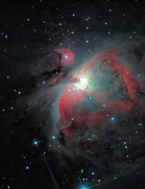 Orion's Gaseous Nebula © Sebastien Grech