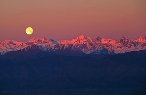 Full Moon over the Alps - Stefano de Rosa (Italy) - Shortlisted