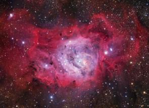 M8 Lagoon Nebula © Ivan Eder