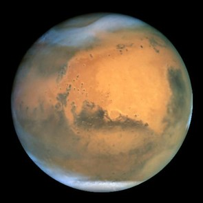 Mars, as seen by the Hubble Space Telescope. Acknowledgements: J. Bell (Cornell U.), P. James (U. Toledo), M. Wolff (Space Science Institute), A. Lubenow (STScI), J. Neubert (MIT/Cornell) Credit: NASA/ESA and The Hubble Heritage Team STScI/AURA
